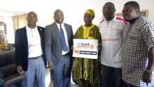 Members of the #FundLAUTECH project with Former Governor Ladoja