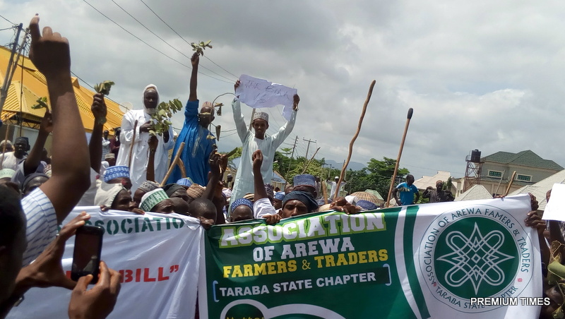FILE PHOTO: Herdsmen, cattle dealers storm Taraba Assembly protest against anti-grazing bill