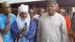 Yusuf Sambo, (the Sarkin Hausawa) and Governor Ugwuanyi