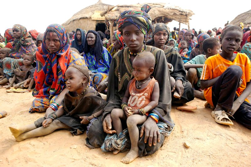 FILE: Mali Refugees [Photo Credit: Guardian Nigeria]