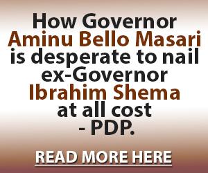PDP-Masari advert