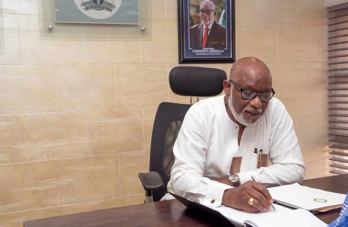 Ondo Governor Akeredolu assigns ministries to commissioners