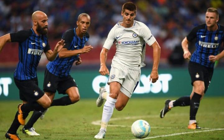 Perisic nets as Blues taste defeat in final tour game