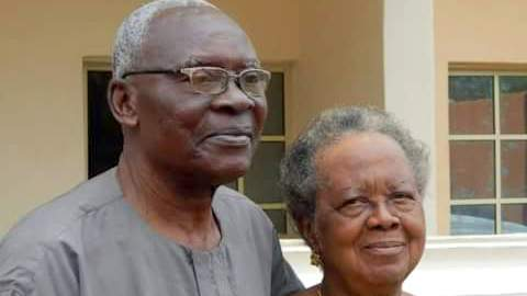 Ogbonnaya Oji and wife