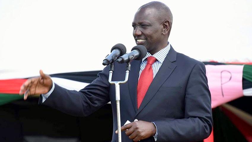 Kenyan Deputy President, William Ruto