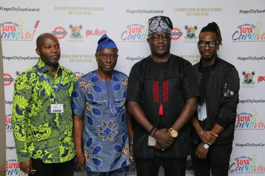 Hon Yomi Ojo, Mr Ashimi, Mr Kehinde Talabi, 9ice