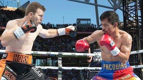 Horn vs Manny Pacquiao [Photo: NAN]