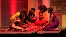 A stage play: Colored girls