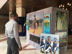 Photos from art exhibition to raise awareness on Hepatitis B