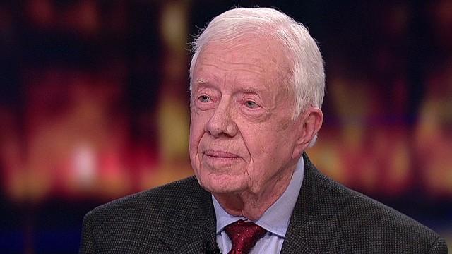 Former U.S. president Jimmy Carter [Photo Credit: CNN]