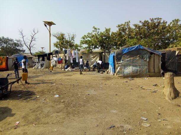 Kuchingoro camp [Photo: Newsweb Express]