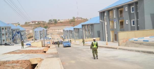 Nigerian Air Force builds 2,000 housing units in two years [Photo: Asaba Metro]