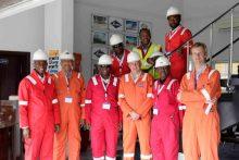 Tony(MD) visit to LPG plant Lagos 2017