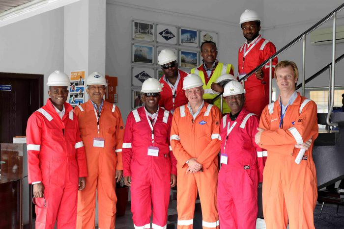 Tony(MD) visit to LPG plant Lagos 2017