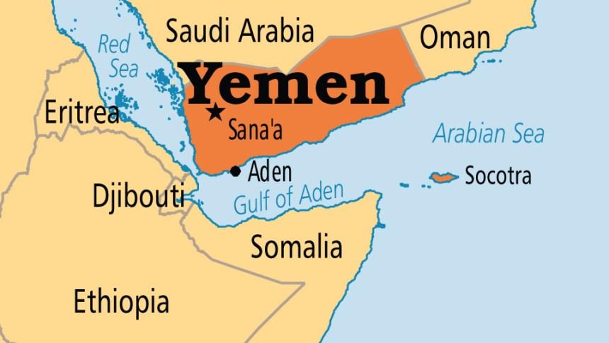 Yemen on map [Photo Credit: Operation World]