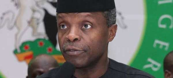 Acting President, Yemi Osinbajo [Photo Credit: The Nation]