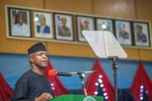 Vice President, Yemi Osinbajo [Photo Credit: Pulseng]