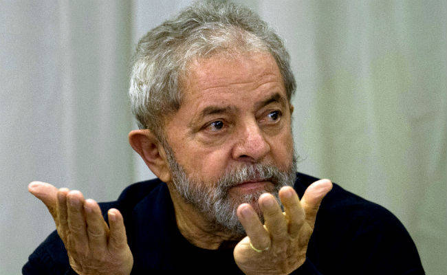 Former Brazilian President, Lula da Silva [Photo Credit: NDTV]
