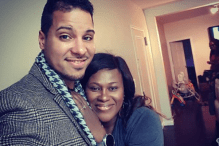 Kenney Rodriguez and his wife Uche Jombo