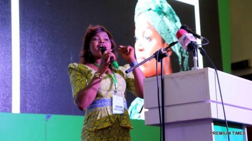 Comfort Oyayi Daniel, a breast cancer survivor.