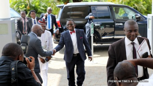 Arrival of the Health Minister, Dr. Isaac Adewole 2
