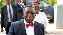 Arrival of the Health Minister, Dr. Isaac Adewole