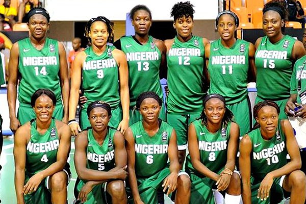 Nigeria's Senior Women Basketball team, D'Tigress. [Photo credit: Complete Sports Nigeria]