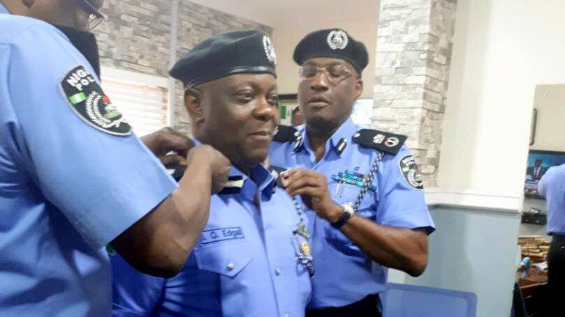Edgal Imohimi takes charge as Lagos police commissioner