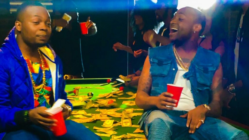 Olamide and Davido in the music video of The Money [Photo Credit: notjustok]