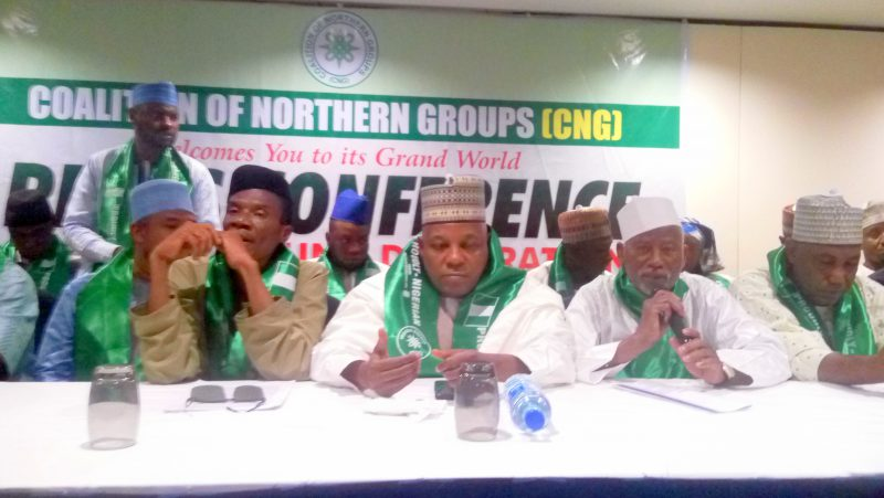 Coalition of Northern Groups press conference