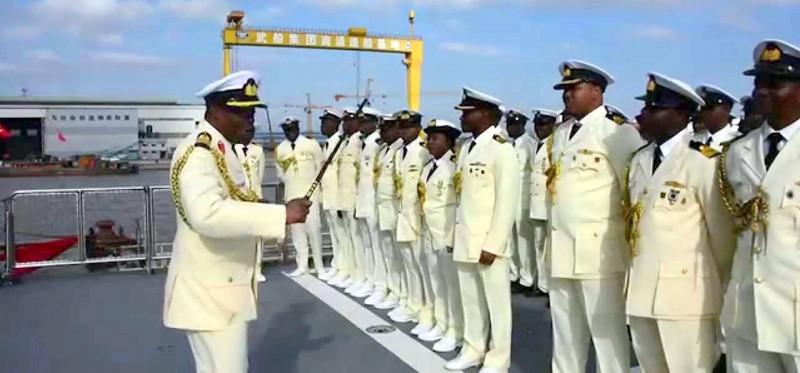 Nigeria Navy Cadets [photo credit:YouTube]