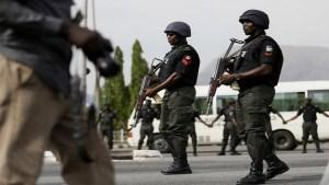 NIGERIA: Nigerian police force