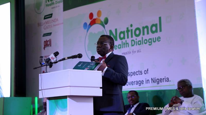 Prof. Isaac Adewole. Minister of Health