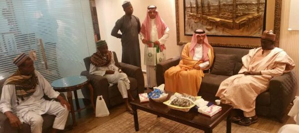 Saudi officials visit brutalised Nigerian pilgrims ... Photo Credit: NAHCON