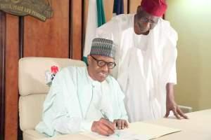 Buhari writes National Assembly, resumes duties as President