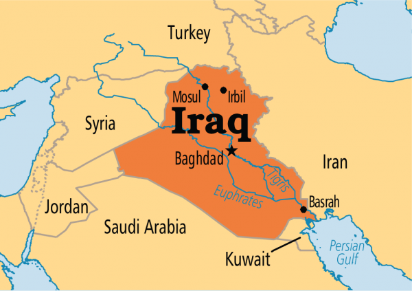 Iraq On Map 71 people die in ferry sinking in Northern Iraq