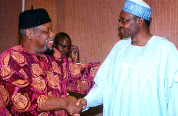 Ojukwu and Buhari
