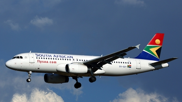 South African Airways [Photo: Air Transport World]