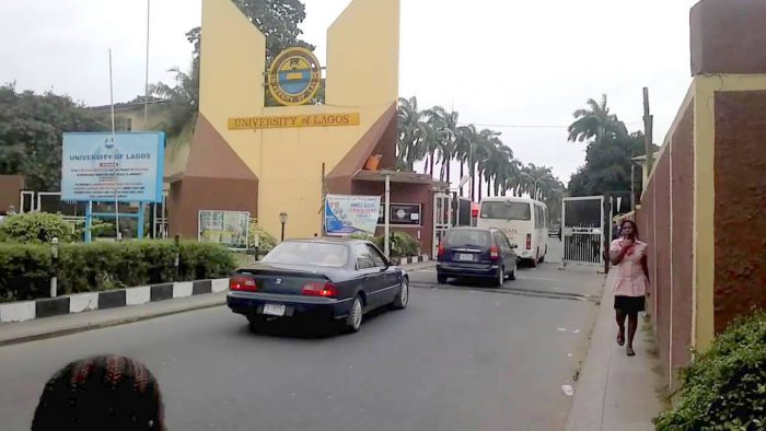 Main Entrance, UNILAG. Photo: Premium Times
