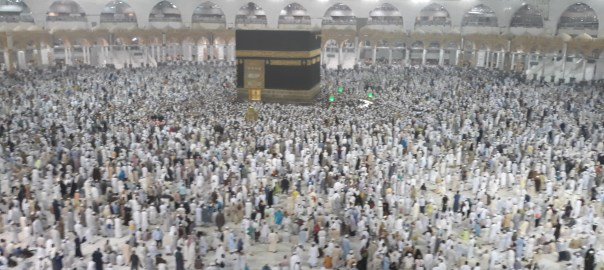 The Ka'bah.... at Islam's holiest site in Makkah [Photo: PREMIUM TIMES]