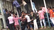22 dead, 32 injured in stampede near Mumbai railway station [Photo: Indian Express]