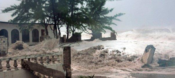 Caribbean Islands huriricane. [Photo credit: BBC]