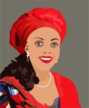 Diezani cartoon