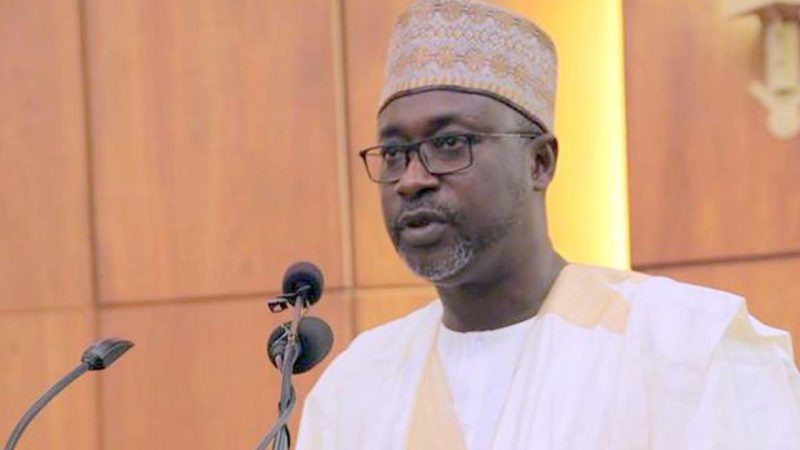 Minister of Water Resources, Suleiman Adamu