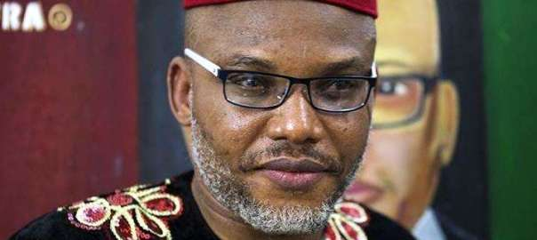 Leader of IPOB, Nnamdi Kanu [Photo Credit: Pulse.ng]
