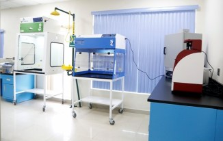 Equipment in the new Lagos State DNA and Forensic Centre at Lagos Island.