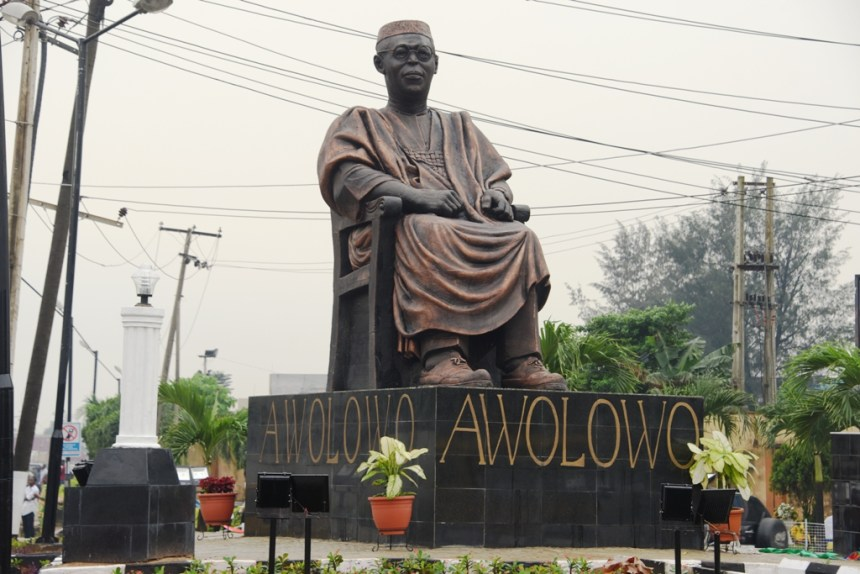 Image result for Obafemi Awolowo Statue in Lagos