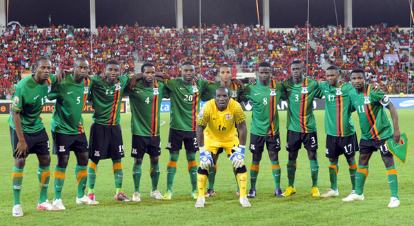 Zambia Football Team [Photo credit: My Continent]