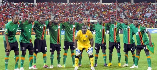 Zambia Football Team [Photo credit: My Continent]
