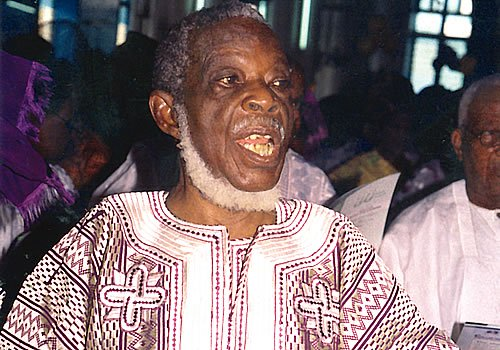 National leader of the Yoruba socio-cultural and political organisation, Afenifere, Ayorinde Fasanmi